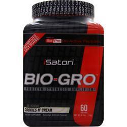 Isatori Bio-Gro Powder - Protein Synthesis Amplifier Cookies 'N Cream 118 grams