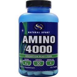 Natural Sport Amino 4000 120 tabs