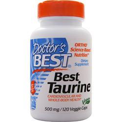 Doctor's Best Best Taurine (500mg) 120 vcaps