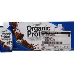 Orgain Orgain RTD High Protein Creamy Chocolate Fudge 12 pck