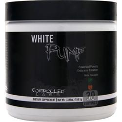 Controlled Labs White Pump - Preworkout Pump & Endurance Enhancer White Pineapple 158.1 grams