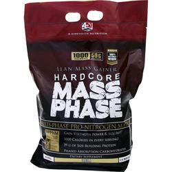 4 Dimension Nutrition Hardcore Mass Phase Vanilla 10 lbs