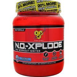 BSN NO-Xplode Pre Workout Igniter Blue Raz 2.45 lbs