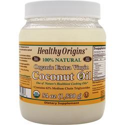 HEALTHY ORIGINS Organic Extra Virgin Coconut Oil 54 oz