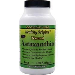 Healthy Origins Astaxanthin 150 sgels