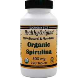 Healthy Origins Organic Spirulina 720 tabs