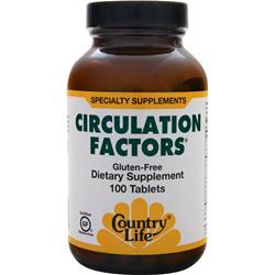 COUNTRY LIFE Circulation Factors 100 tabs
