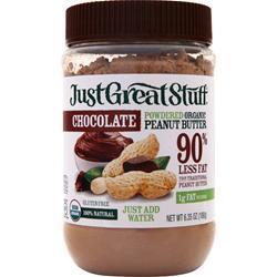 Betty Lou's Just Great Stuff - Powdered Organic Peanut Butter Chocolate 180 grams