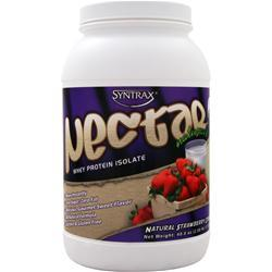 SYNTRAX Nectar Whey Protein Isolate - Natural Strawberry Cream 2.5 lbs