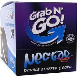 Syntrax Grab N' Go! Double Stuffed Cookie 12 pckts