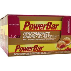 PowerBar Performance Energy Blasts Raspberry 12 pckts
