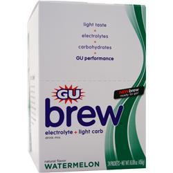 Gu Electrolyte Brew Watermelon 24 pckts