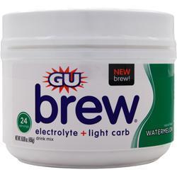 Gu Electrolyte Brew Watermelon BEST BY 5/17 456 grams