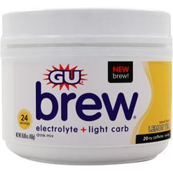 Gu Electrolyte Brew Lemon Tea 456 grams