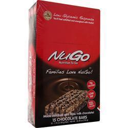 Nugo Nutrition NuGo Bar Chocolate 15 bars