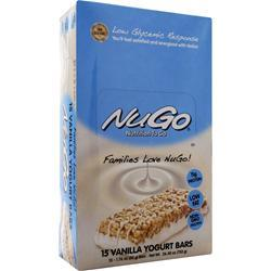 NUGO NUTRITION NuGo Bar Vanilla Yogurt 15 bars