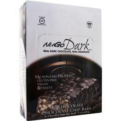 NUGO NUTRITION NuGo Dark Bar Chocolate Chocolate Chip 12 bars