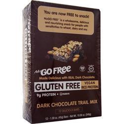 Nugo Nutrition NuGo Free Bar Dark Chocolate Trail Mix 12 bars