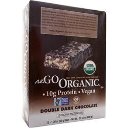 Nugo Nutrition NuGo Organic Bar Double Dark Chocolate 12 bars