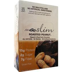 Nugo Nutrition Slim Bar Roasted Peanut 12 bars