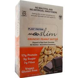 Nugo Nutrition Slim Bar Crunchy Peanut Butter 12 bars