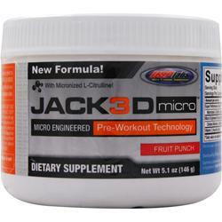 USP Labs Jack3D Micro Fruit Punch 5.1 oz