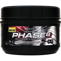 MUSCLETECH Phase 8 - Multi Phase 8 Hour Protein White Chocolate .35 lbs