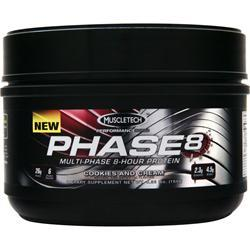 MUSCLETECH Phase 8 - Multi Phase 8 Hour Protein Cookies and Cream Exp8/15 .36 lbs