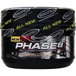Muscletech Phase 8 - Multi Phase 8 Hour Protein Vanilla .36 lbs