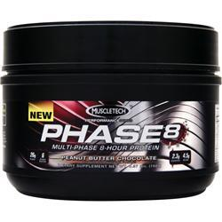 Muscletech Phase 8 - Multi Phase 8 Hour Protein PB Chocolate .36 lbs