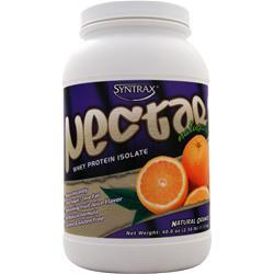 Syntrax Nectar Whey Protein Isolate - Natural Orange 2.5 lbs