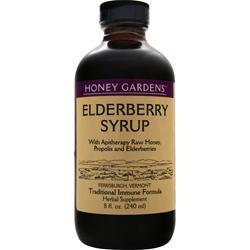 Honey Gardens Elderberry Syrup 8 fl.oz