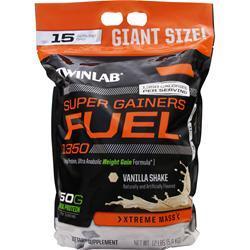 TWINLAB Super Gainers Fuel 1350 Vanilla Shake 12 lbs