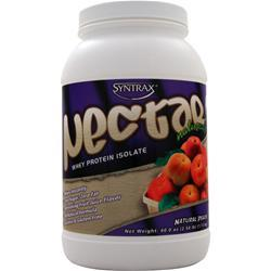 SYNTRAX Nectar Whey Protein Isolate - Natural Peach 2.5 lbs