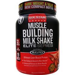SIX STAR PRO NUTRITION Muscle Building Milk Shake Elite Series Decadent Chocolate 2 lbs