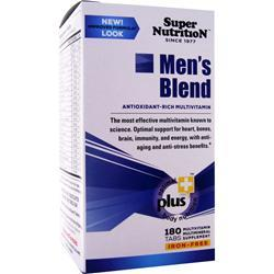SUPER NUTRITION Men's Blend (Iron-Free) 180 tabs
