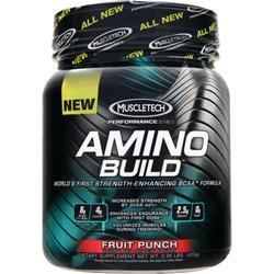 MUSCLETECH Amino Build - Buy 50 Serving get 10 Free Fruit Punch 521 grams