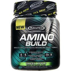 Muscletech Amino Build - Buy 50 Serving get 10 Free Green Apple 531 grams