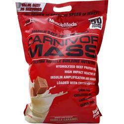 MuscleMeds Carnivor Mass Vanilla Caramel 10 lbs