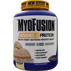 GASPARI NUTRITION MyoFusion Advanced Protein Vanilla Ice Cream 4 lbs