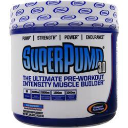 GASPARI NUTRITION SuperPump 3.0 Blue Raspberry 14 oz