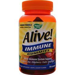 Nature's Way Alive! - Immune Gummies Grape/Cherry 90 gummy