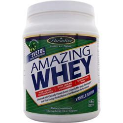 Paradise Herbs Amazing Whey Vanilla BEST BY 2/18 12.8 oz