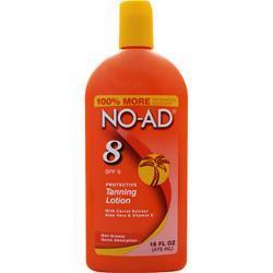 NO-AD Protective Tanning Lotion SPF 8 16 fl.oz