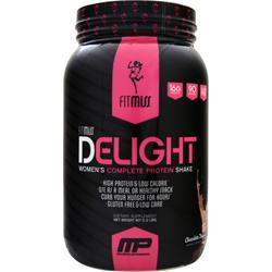 FITMISS Delight - Women's Premium Healthy Nutrition Shake Chocolate Delight 2 lbs
