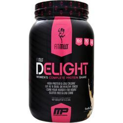 FITMISS Delight - Women's Premium Healthy Nutrition Shake Vanilla Chai 2 lbs