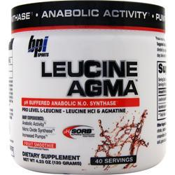 BPI Leucine Agma Fruit Smoothie 120 grams