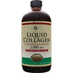 Lifetime Liquid Collagen with Hyaluronic Acid & Vitamin D3 Natural Berry 16 fl.oz
