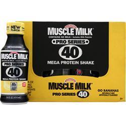 CYTOSPORT Muscle Milk Pro Series 40 RTD Go Bananas 12 bttls