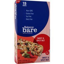 Balance Bar Balance Bare Bar Sweet & Spicy Nut 15 bars